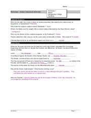 greek worksheet 2 with answersb