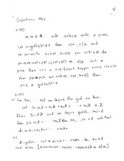 Homework 2 Solution on Abstract Algebra