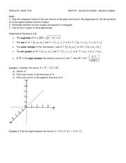 Math 43 - Section 11.2 Notes