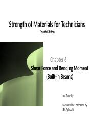 Strength of Materials for Technicians chapter6 pptx[1](7) (2)