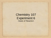 107 EXP 6 Lecture