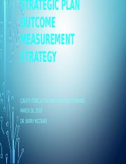 Strategic Plan Outcome Measurement Strategy.pptx