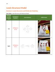 Lewis Structure Model Lab Report  Share.docx