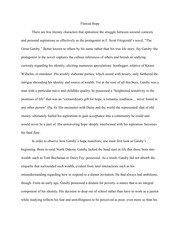 Cycle One Sample Essay (Gatsby)