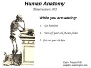 intro and survey of human anatomy