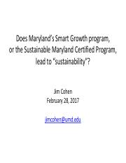 Is Smart Growth Sustainable_ARCH289_3.pdf