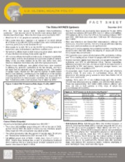 KFF.Fact_Sheet.Global HIV_AIDS Epidemic Dec 2010