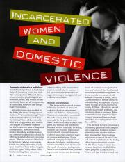 Domestic Violence and Incarceration