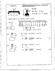 747_Mechanics Homework Mechanics of Materials Solution