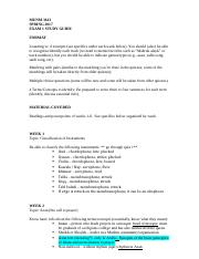 study guide exam 1 (online).docx