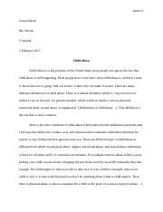 Child Abuse research essay.docx