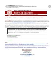 Indiana University Confirmation Certificate on Recognizing Plagiarism for Michael Miles