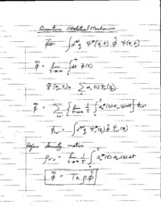 9_19_Quantum_Statistical_Mechanics Lecture Note
