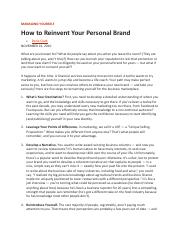 Lecture 1 - How to Reinvent Your Personal Brand.pdf