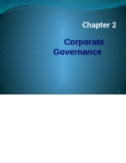Corporate Governance Chapter 2 a