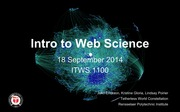 ITWS1100_WhatIsWebScience_Sep2014