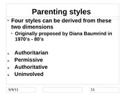 Parenting Styles_Ch8