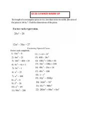 02-26-14 Special Cases WorksheetM4CR WARM UP _ CLASSWORK.pdf