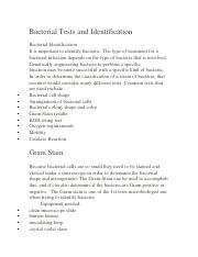 Bacterial Tests and Identification.docx