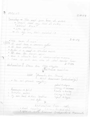 Semsters Notes Mus 117