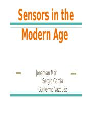 Sensors+in+the+Modern+Age.pptx