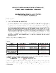 ASSIGNMENT 1 MANAGERIAL ECONOMICS - LIM.pdf