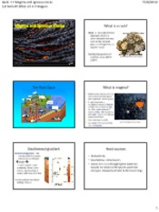 05 MAGMA & IGNEOUS ROCKS