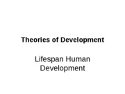 Growth & Development Ch.1