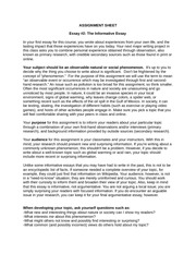 your essay should include (don't repeat your examples) like introductions, conclusions should be one paragraph and never include information—even if on topic—that you have not already discussed in the body of the essay (so that means no footnotes in a conclusion) the time for discussing the material of the topic is over your argument is.