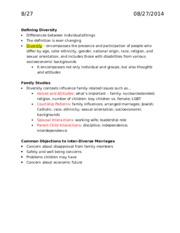 HDFS 2001 Exam 1 Notes