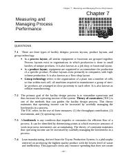 ch7 process management Scheduling: introduction approaches were taken from the field of operations management and ap- and quite willing to stop one process from run.