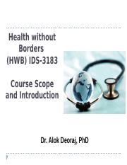 INTRODUCTION_and scope of Health without Borders-Fall 2016 (3).pptx
