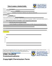 Humans of UWA - Student Template.docx