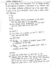 080413  ese319  Sample Problem Set 7 with Solution
