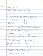 CHM 141 Hydrocarbons Notes