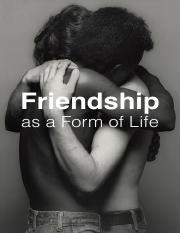 Friendship as a Form of Life (Read)