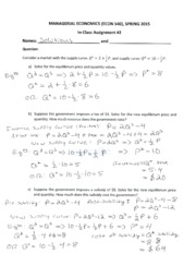 Assignment(InClass) #2_Solutions