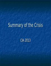 EP10 The Crisis CIA.ppt