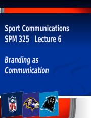Lecture 6 Branding