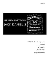 Jack Daniels Brand Review.docx