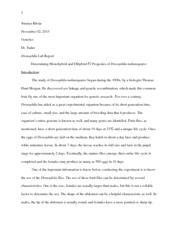 Lab report example biology osmosis essay