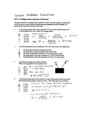 sample midterm answers