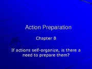 Chapter 2 Action Preparation