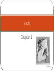 Chapter 2 Graphs