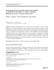 Entrepreneurial orientation and social capital gender 2006.pdf