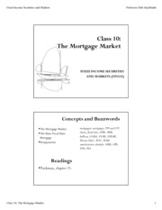 Class-10-Mortgage mkt