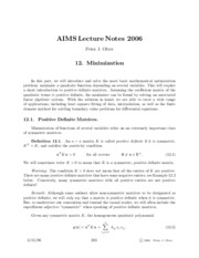The Finite Element Method Notes