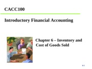 CACC100 Porter Chapter 6 - Student Copy