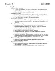 Research Methods Study Guide 2