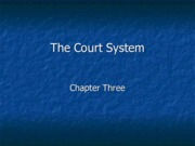 Legal Studies 2700 Chapter 3 Lecture Slides